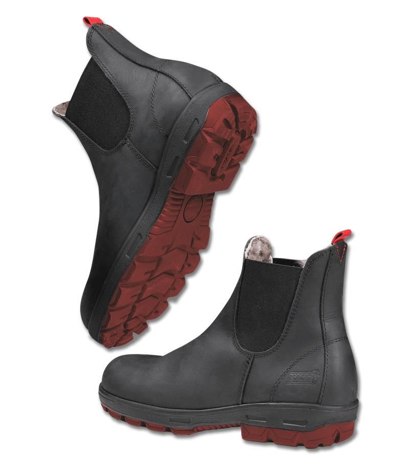 c5259942590d Výpredaj - Zimné kožené jazdecké topánky LEEDS