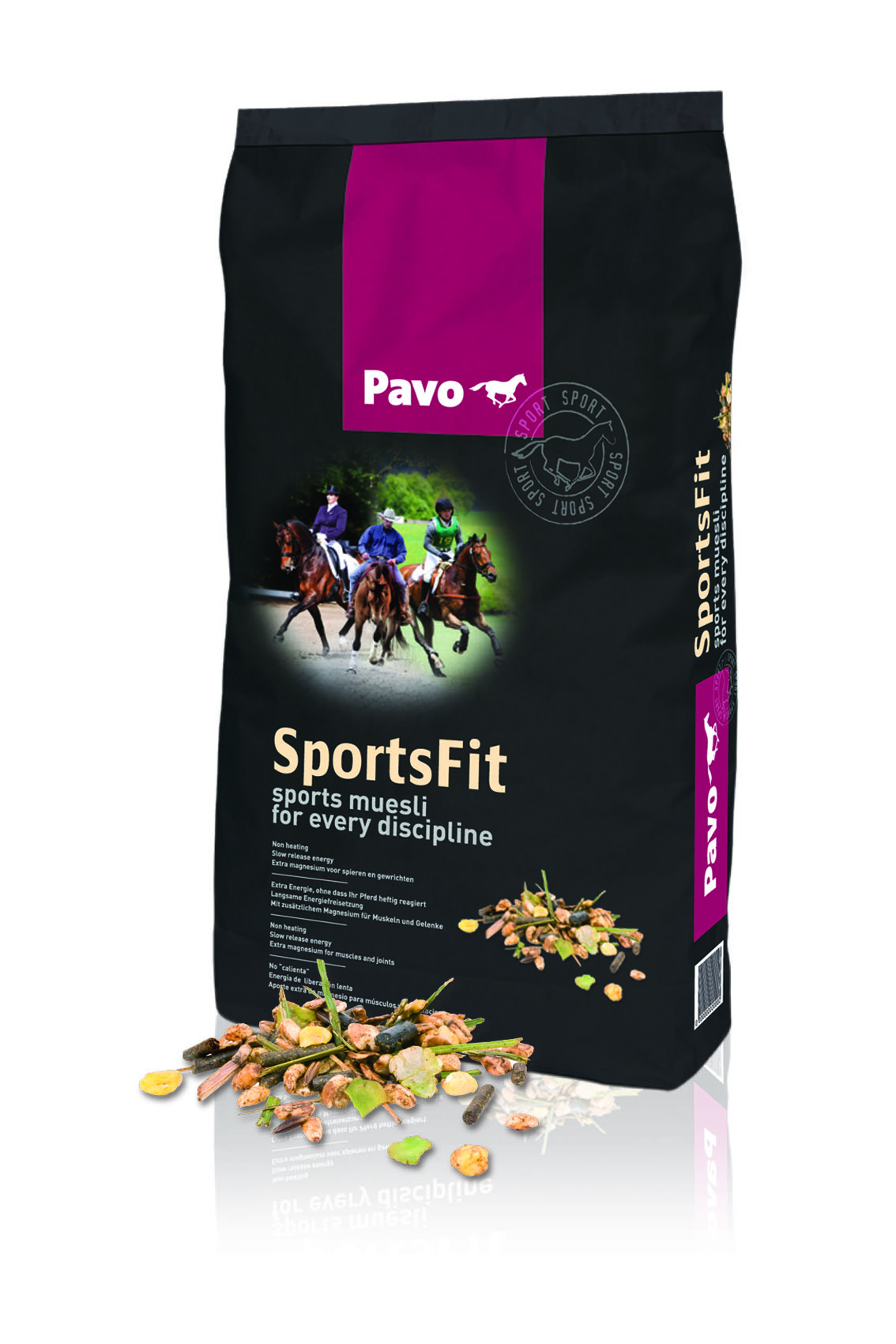 Pavo Sports Fit müsli 15kg