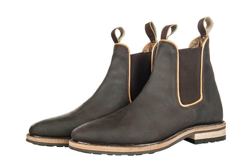 f13dc4776 Jazdecké topánky REX BERGAMO, nubuk koža